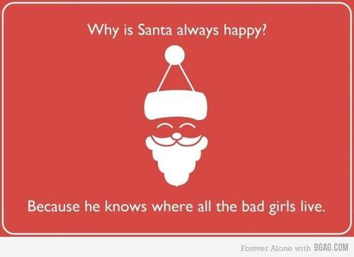 christmas, funny, girls, haha, naughty, santa