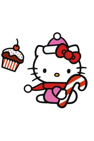 hello kitty, hello kitty christmas, hello kitty iphone, hello kitty wallpaper