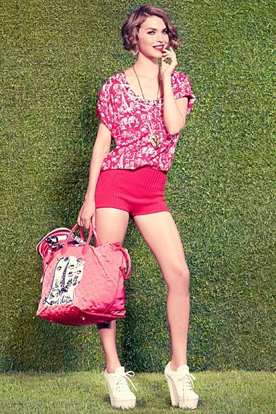 2012, bag, cute, fashion, hot, louis vuitton, louis vuitton 2012, outfit, pink, pretty, shoes, style, wedges