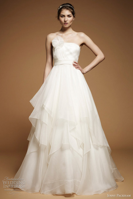 2012, bridal, bride, dress, fashion, gown, jenny packham, peony, wedding, wedding dress, wedding gown, white