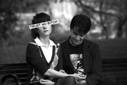 500 days of summer, black and white, boy, girl, text