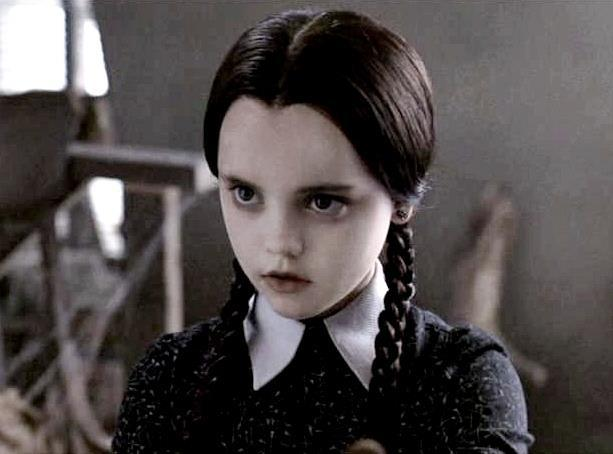 addams family, christina ricci, creepy, goth, movie