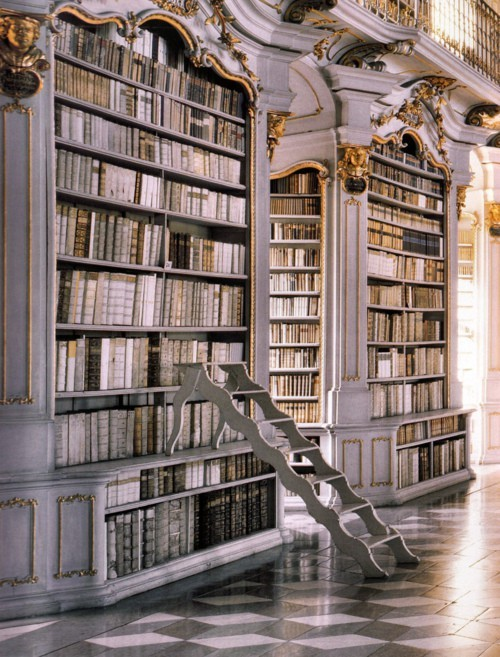 admont abbey library, austria, beautiful, books, library