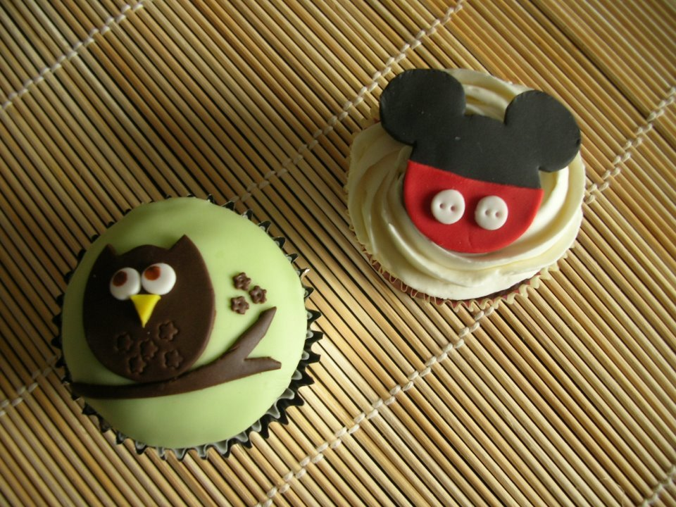 adorable, cupcakes, cute, food, mickey