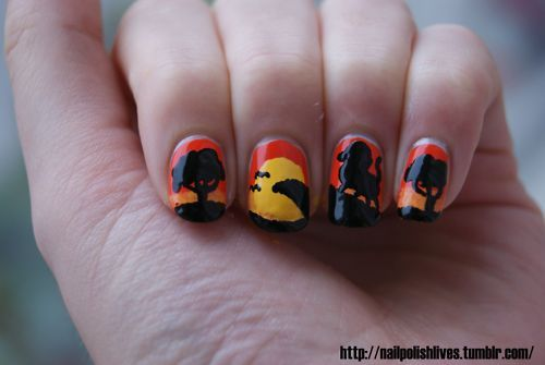 africa, art, lion, lion king, nail