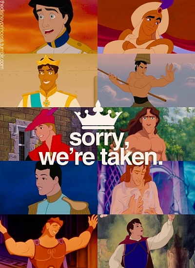 aladdin, beauty and the beast, chang youre mine ;), charming, cinderella