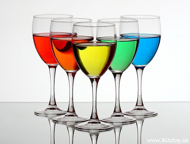 alcohol, blue, colorful, drinks, glass