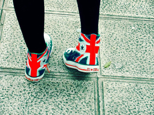 all star, girl, london, love it!, sapatos