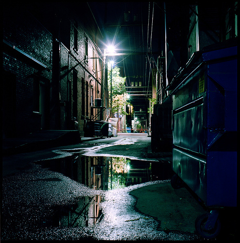Alley Cool Moscow Night Photography Image 251877 On