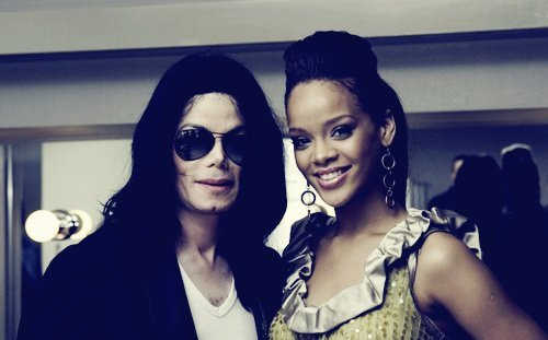 amazing, beautiful, couple, diva, king of pop, legend, michael jackson, perfect, rihanna