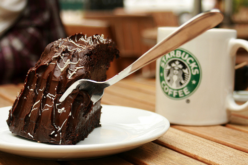 amazing, cake, chocolate, starbucks