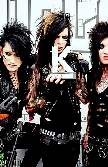 andy biersack, ashley purdy, black veil brides, jake pitts