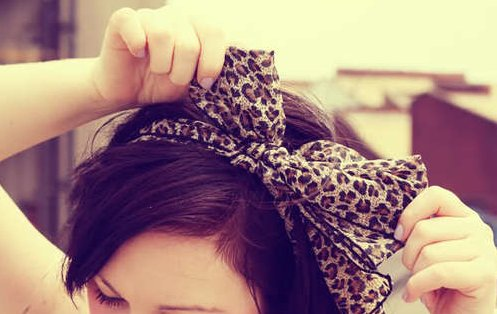 animal print, beautiful, bow, classy, fashion