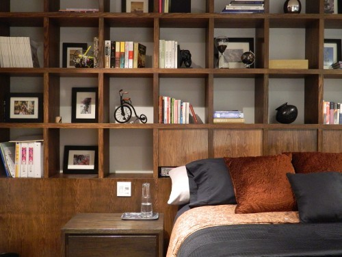 apartment, bed, decor, interior design, rooms