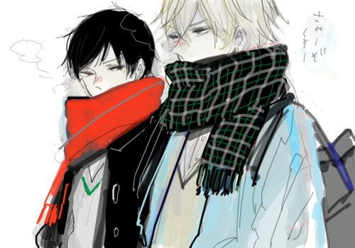 art, boys, draw, drrr, durarara