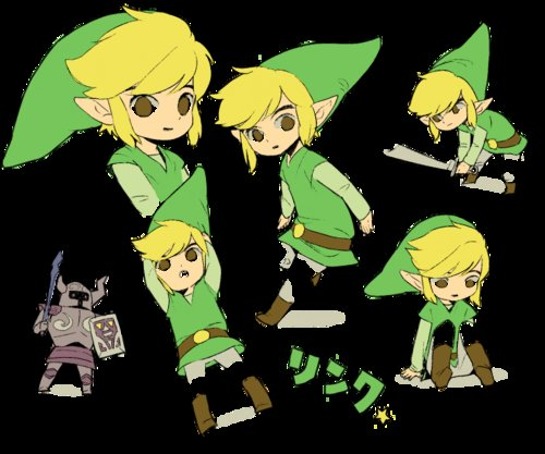 art, link, the legend of zelda, toon link