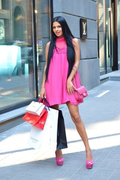awesome, bags, brunette, cute, dress, fashion, heels, hot, leopard, louis vuitton, pink, pretty, pumps, shoes, shopping, style