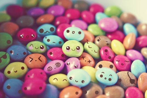 awesome, blue, brown, colorful, colour, colours, cute, green, kawaii, orange, pastel, photography, pink, purple, red, smarties, yellow, yummy