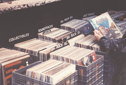 awsome, cool, discs, hipster, music - image #254762 on ... Indie Photography Music