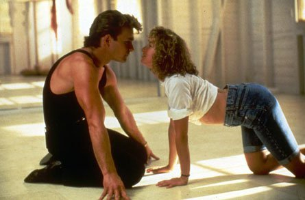 baby, dance, dirty dancing, johnny and baby, johny and baby, love, old