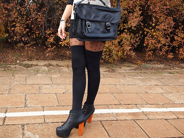 bag, black, jeffrey campbell, legs, litas