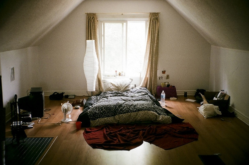 balcony, beautiful, bed, comfortable, cuddle, hipster, indie, life, light, morning, photo, photography, room, sleep, window, wood