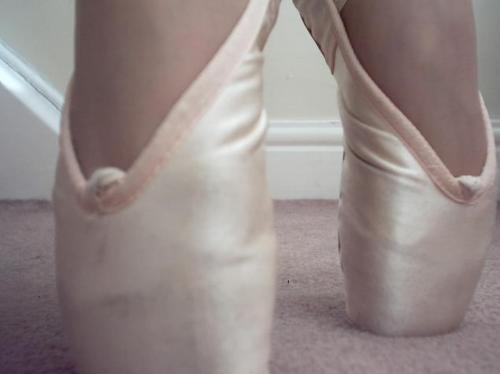 ballet, pointe, shoes