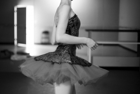 b&w, ballett, dress, girl