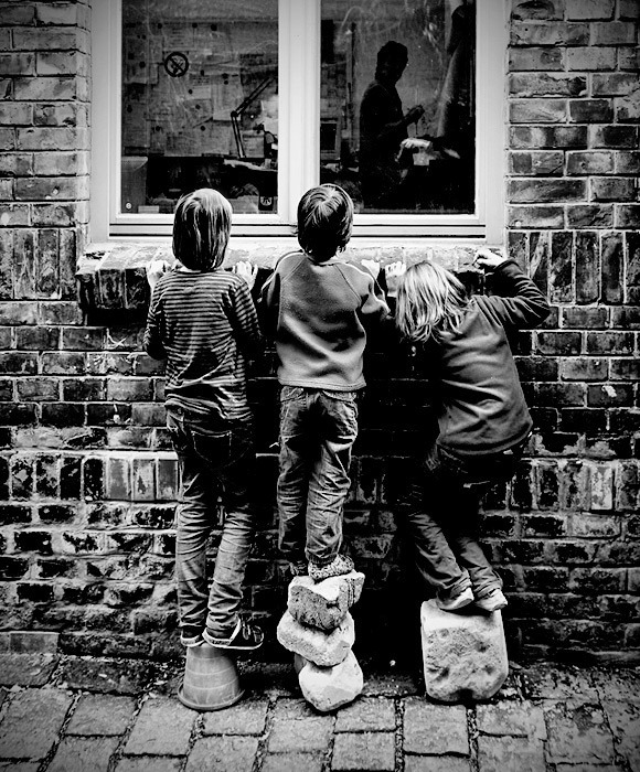 b&amp;w, blanco y negro, children, infancia, kids