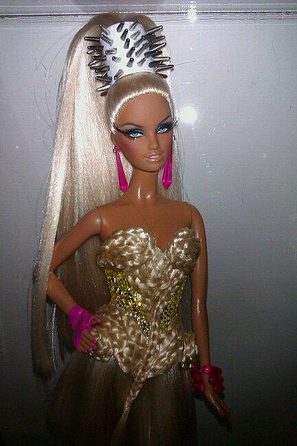 barbie, bling, blonde, cute, doll