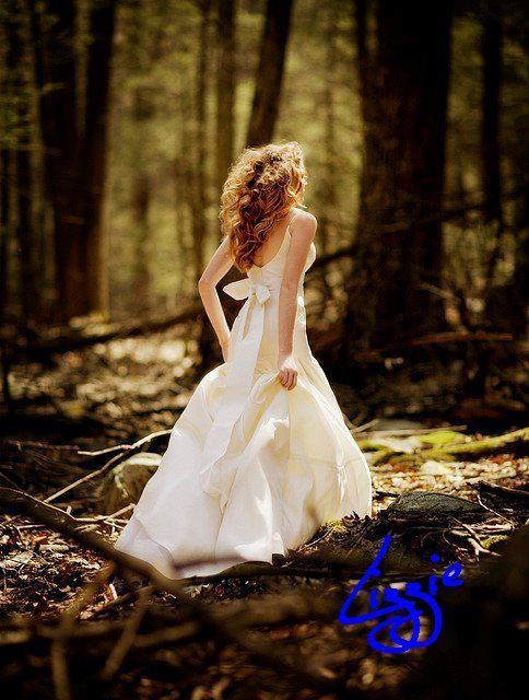 beach, blonde, bridal, cute, dress, fashion, forest, girl, lizzie, lovely, nice, sexy