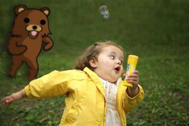 bear, child, creepy, jajaja, lol