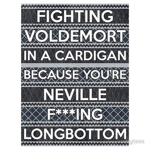 beast, boss, cardigan, cool, deathly, deathly hallows, fucking, funny, hallows, harry potter, hilarious, humor, like a boss, longbottom, lord voldemort, neville, neville longbottom, nice, sweater, text, the deathly hallows, true, typography, voldemort