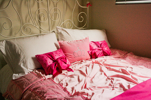 beautiful, bed, bed room, bedroom, bow