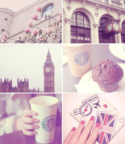 beautiful, big ben, british, cake, colors, cupcake, england, little, lodon, london, love, muffin, nails, photograph, photography, pink, starbuck, starbucks, text