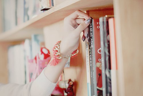 beautiful, book, books, braclet, chic