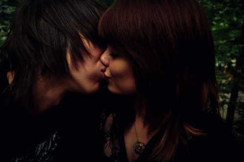 beautiful, boy, couple, cute, girl, kiss, lovely, romantic, sweet, together, valentine