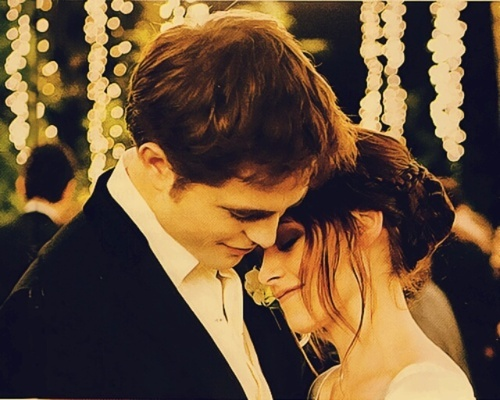 beautiful, breaking dawn, edit, kristen stewart, kstew, robert pattinson, robsten, rpattz, twilight, wedding