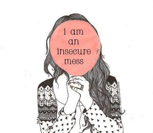 beautiful, bueaty, drawing, good, hate, hide, i am, insecure, love, mess, sign, ugly