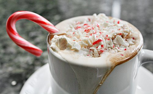 beautiful, cafe, candy, cappuccino, christmas