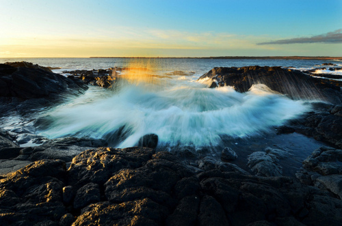 beautiful, earth, landscape, ocean, rocks, water