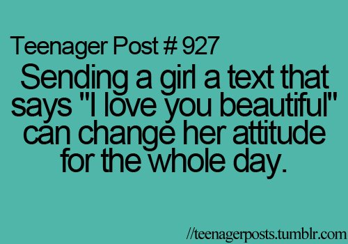 beautiful, i love you, sms, teenager post, text - image #252690 on ...