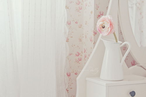bedroom, curtains, cute, floral, flower