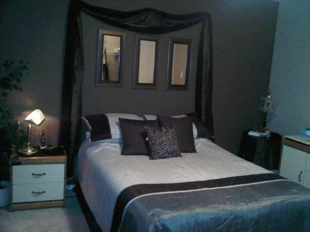 bedroom, decor, design, gray, grey, interior, interior design