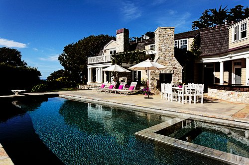 big, house, luxury, pool, pretty