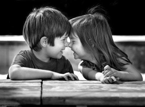 black &, white, couple, kids, photography, true love ...