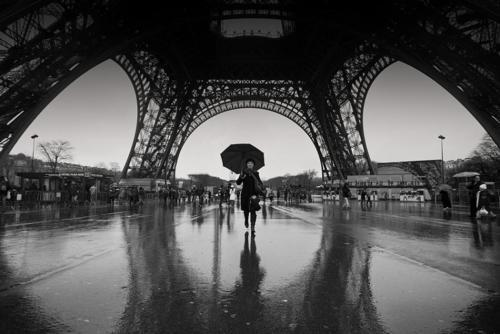 black and white, blanco y negro, city, cool, eiffel