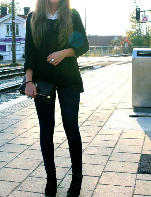 black, blue, clothes, cute, eyes