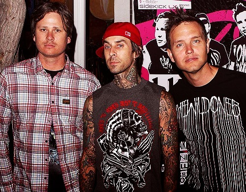 blink 182, mark hoppus, tom delonge, travis barker