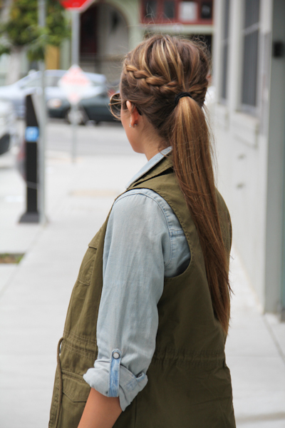 blonde, blonde girl, blonde hair, bun, fashion, hair, hairstyle, ponytail